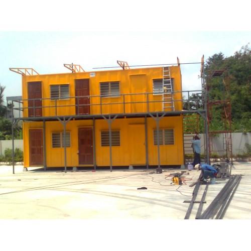 Double Decker Cabin- Malaysia Cabin Supplier
