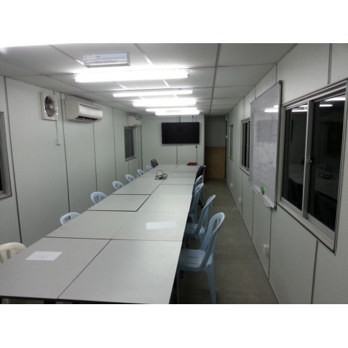 Gypsum board malaysia cabin manufacturer portable cabin for Site office design