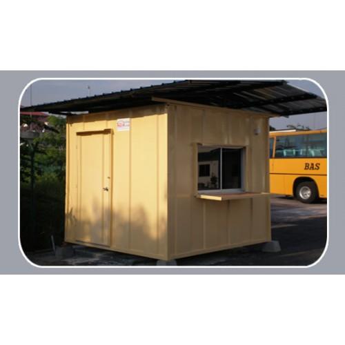Heavy Duty Portable House : Heavy duty guard house malaysia cabin manufacturer