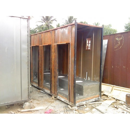 Portable Toilet Cabin- Cabins & Containers Manufacturers